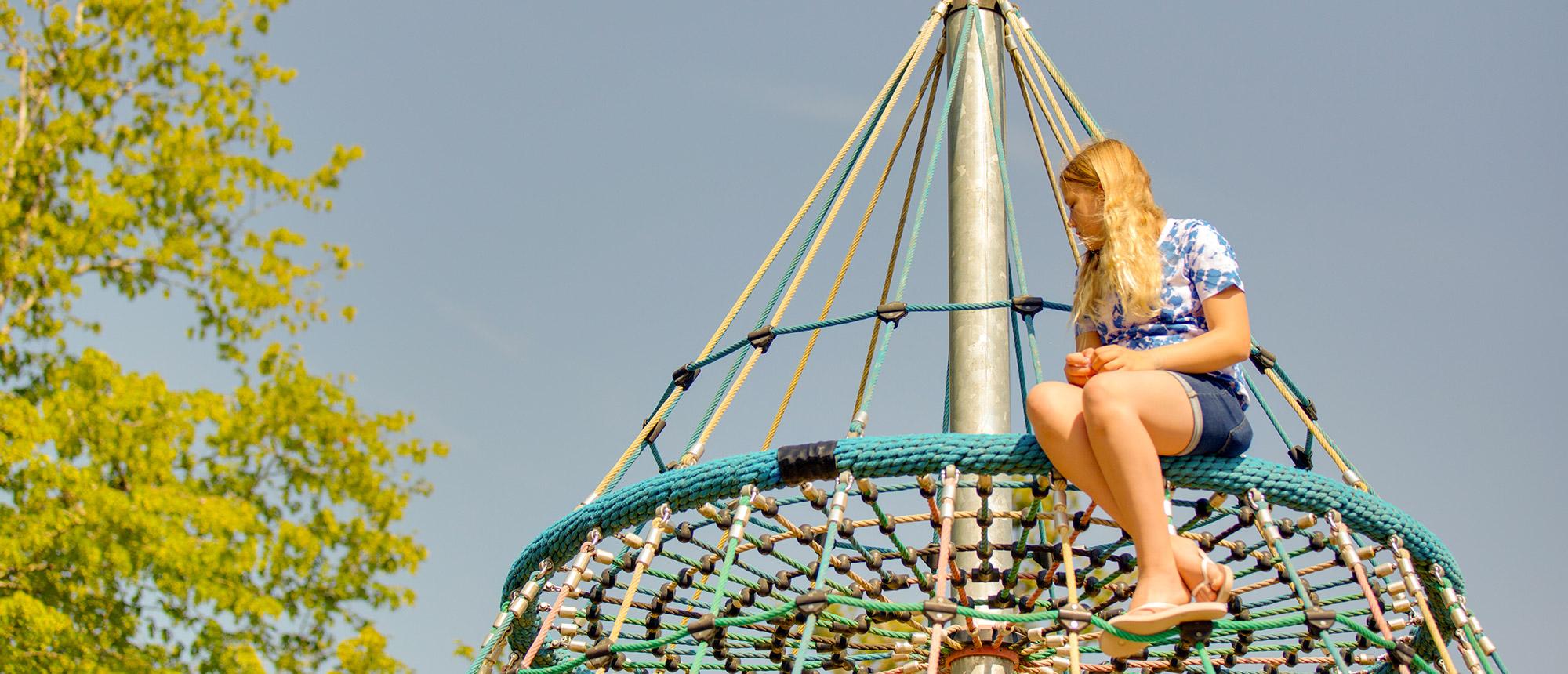 Aire de jeux - Camping La Grande Tortue