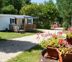 Location mobil-home avec télé - Camping La Grande Tortue