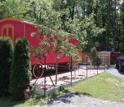 Location roulotte - Camping La Grande Tortue