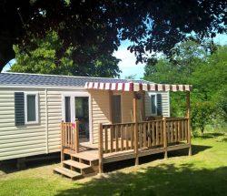 Mobil-home avec terrasse - Camping La Grande Tortue