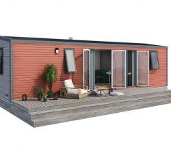Mobil-home 3 chambres - Camping La Grande Tortue
