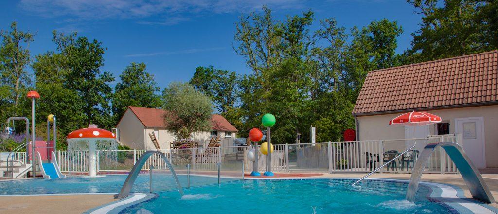 Camping Loir-et-Cher avec Espace aquatique